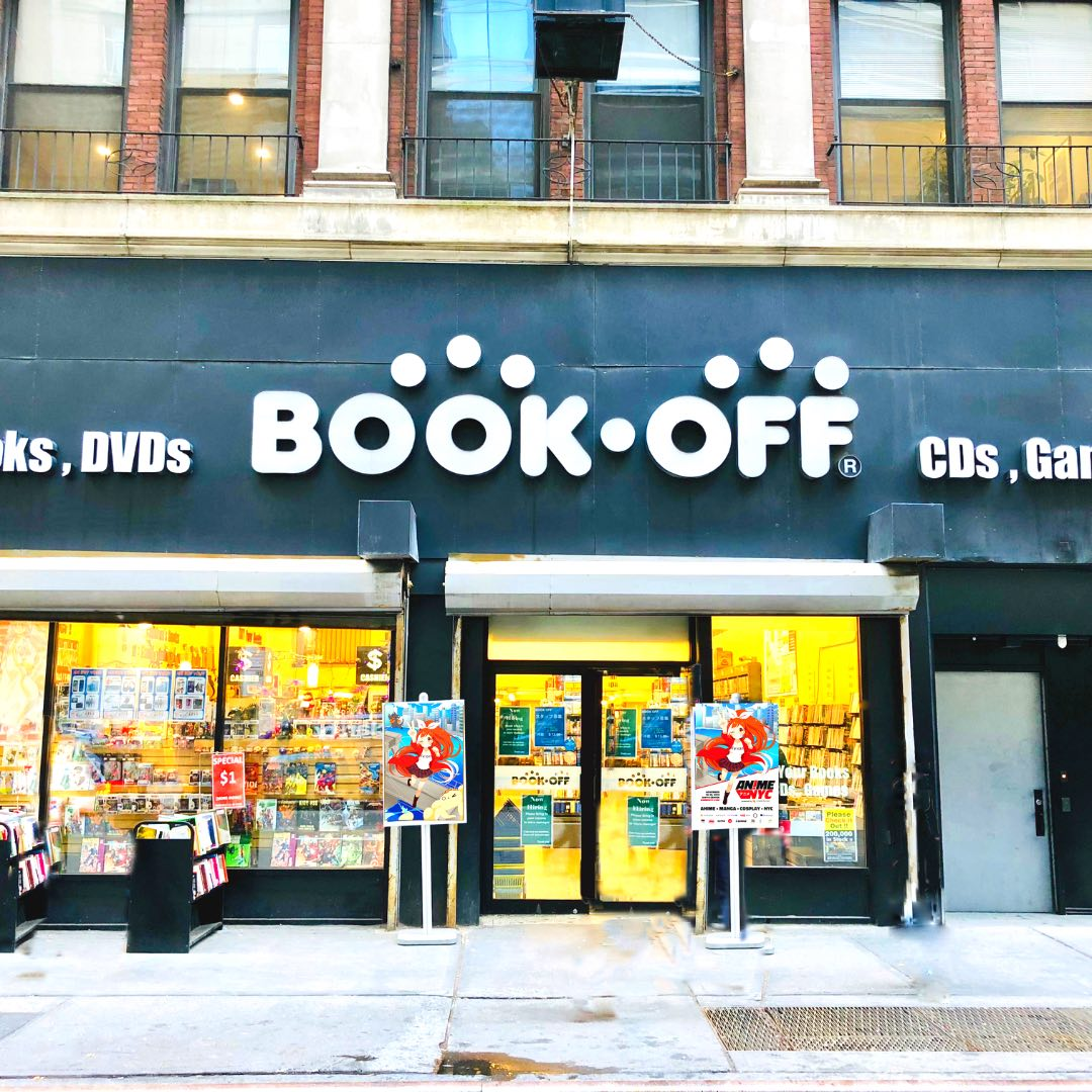 BOOKOFF 49 W 45th NY Store